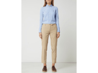 Cropped Chino mit Stretch-Anteil