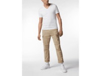 Straight Fit Cargohose mit Stretch-Anteil Modell 'Roxic'