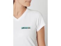 T-Shirt mit V-Ausschnitt Modell 'Stronara'