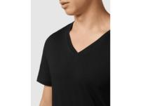T-Shirt mit V-Ausschnitt im 2er-Pack