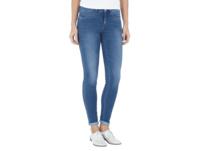 Skinny Fit Jeans mit Mid Rise und Stretch-Anteil