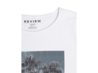 Longer Fit T-Shirt mit Foto-Print