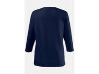 Shirt, 3/4 Arm, Rundhalsausschnitt, Baumwollmix