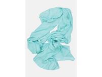Schal, einfarbig, Fransenkanten