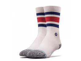 Socken Staples Boyd White Blue Red