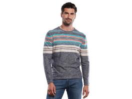 Pullover gestreift