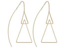 Ohrhänger - Golden Double