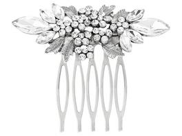 Haarkamm - Floral Sparkle