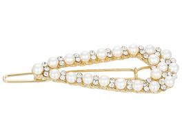 Haarklammer - White Pearls