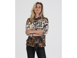 Sweatshirt mit Animalprint