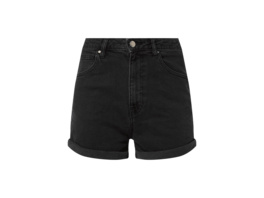 High Rise Jeansshorts mit Stretch-Anteil