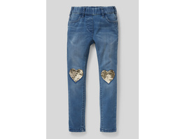 THE JEGGING JEANS - Bio-Baumwolle - Glanz-Effekt