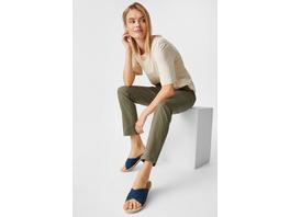 Hose mit Gürtel - Elina - Bio-Baumwolle